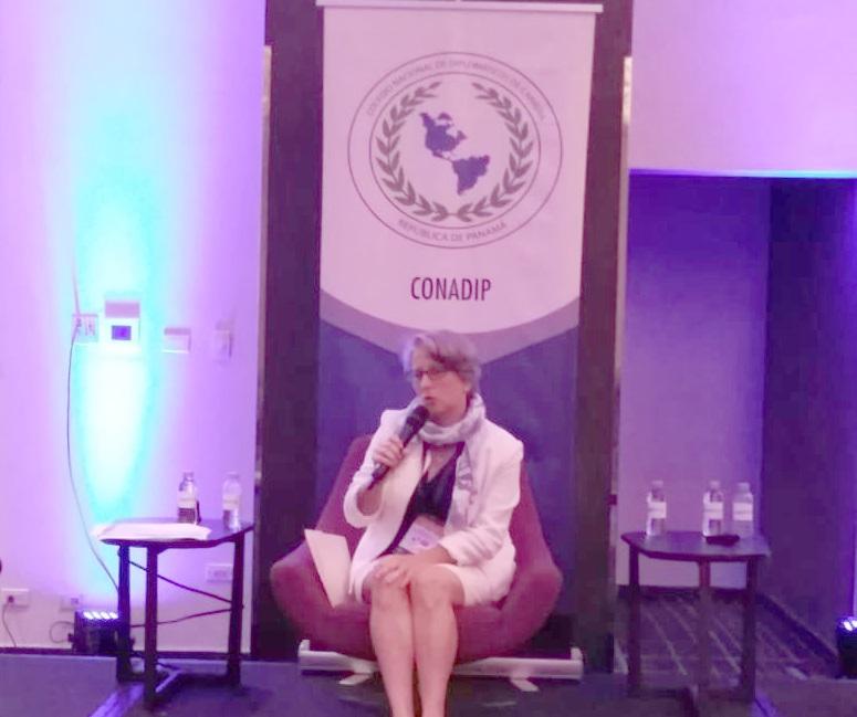 1er_congreso_politica_comercio_y_cooperacion_internacional_conadip_selina_banos 1